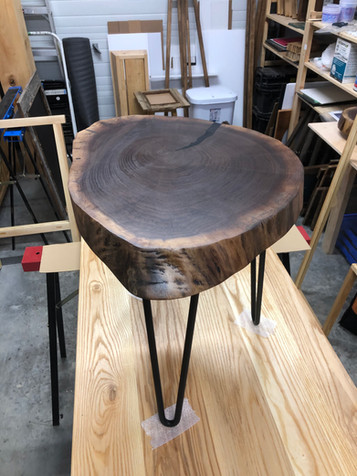 Black walnut cookie table