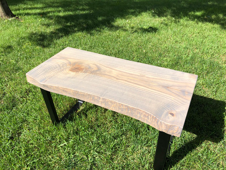 Grey washed ash table