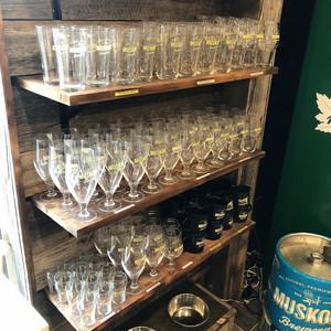 Muskoka Brewery shelving