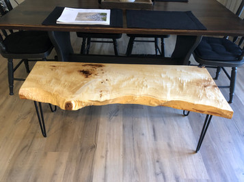 Spalted maple coffee tabl