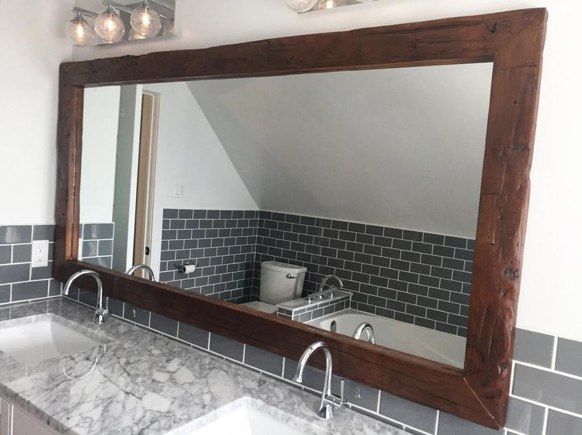Large vanity mirror