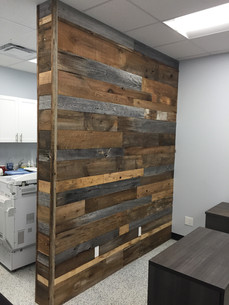 Office reception partition