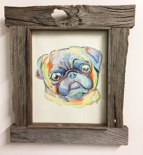 Framed-watercolour-rustic-works