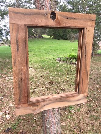 sanded beam mirror
