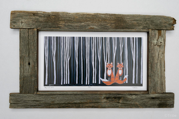 foxes-frame-rustic-works