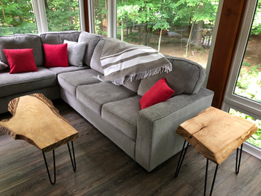Pair of side tables
