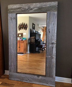 Custom 4.5 foot mirror