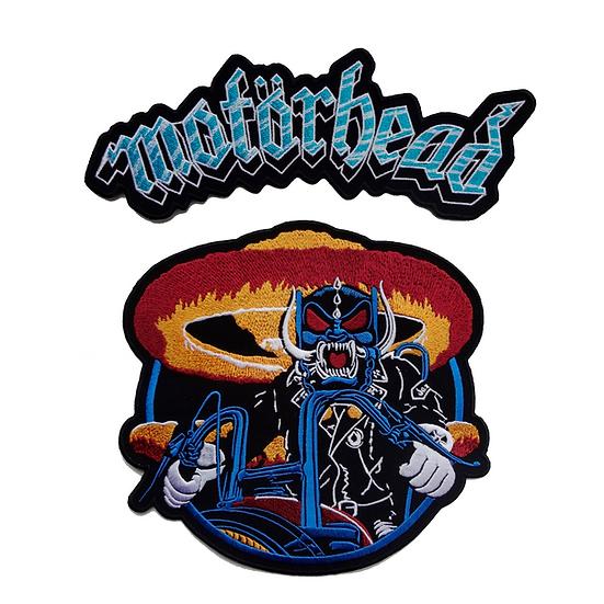 PRE-SALE: Motorhead Backpatch