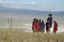 Jumping with the Maasai, Ngorongoro