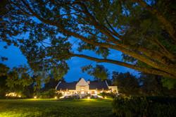 TheManor - Exterior Main Manor House at Night (c)Silverless