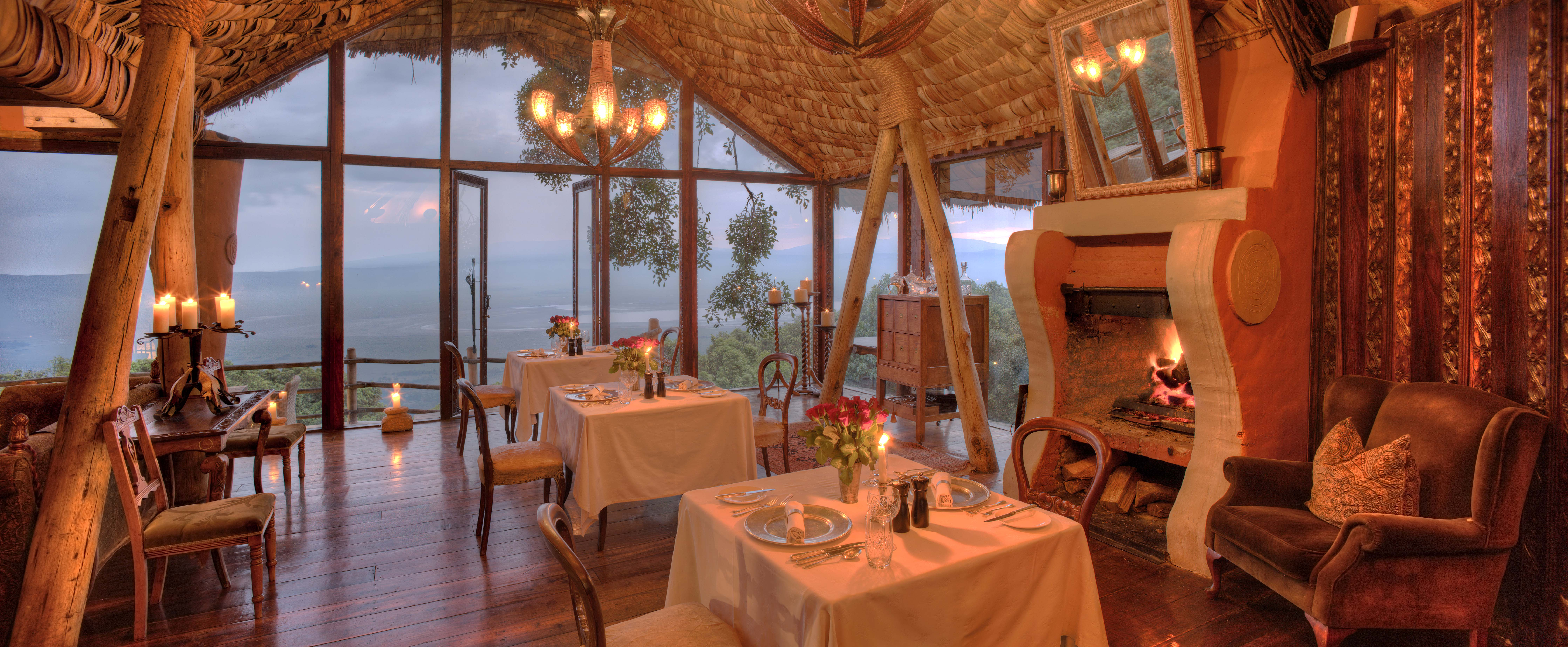 Ngorongoro Crater lodge_guest area2