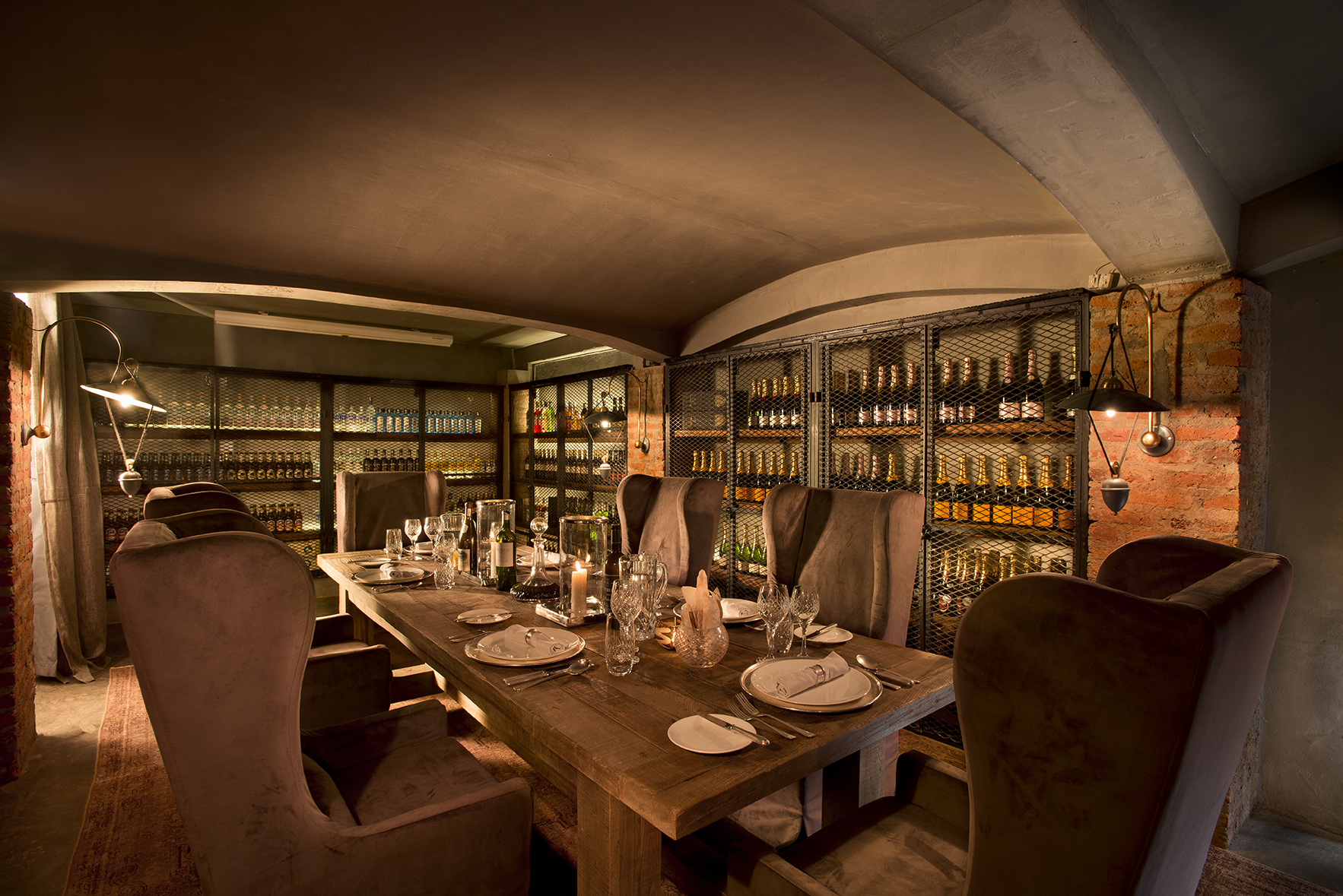 Ngorongoro Crater lodge_wine_cellar1