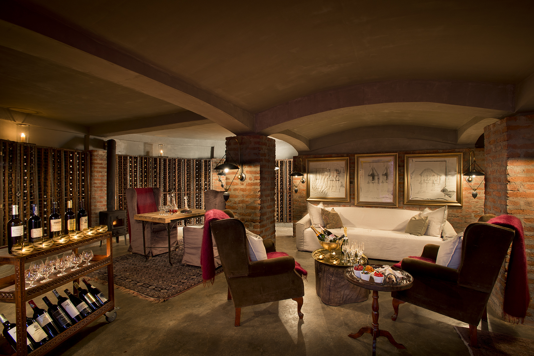 Ngorongoro Crater lodge_wine_cellar