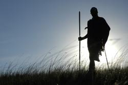 07 - Maasai at Sundown