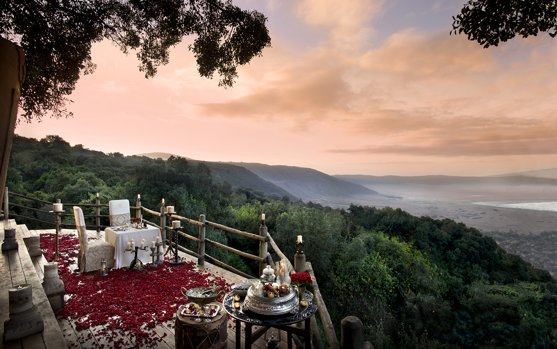 Ngorongoro Crater lodge.
