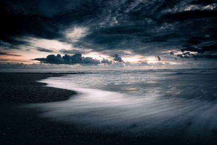 A STAR AT DUSK - Plage de la Beschée, Brétignolles-sur-Mer