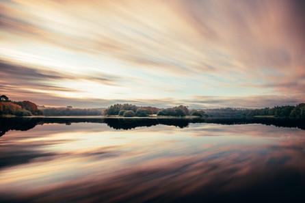 AUTUMN SKY - Lac du Jaunay (La Baudrière)