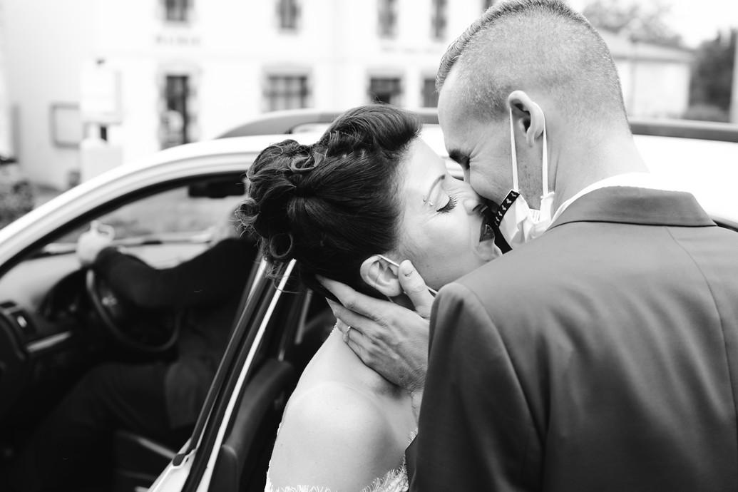 Baiser des maries