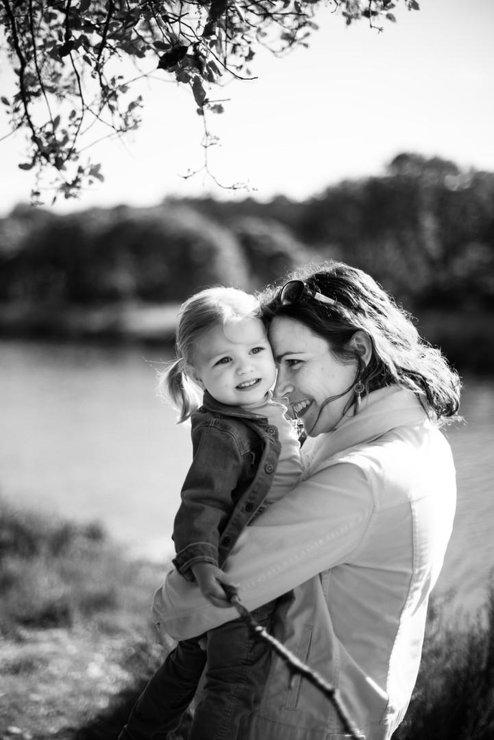Maman et sa petite fille