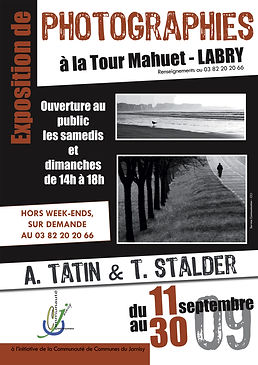 Affiche de l'expo photo Grains de Sables realisee par Antoine Tatin