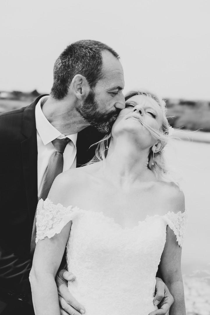 Baiser du marie