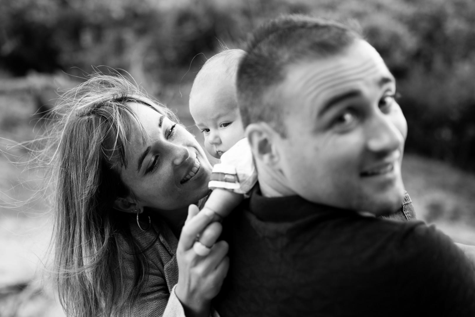 Couple avec bebe