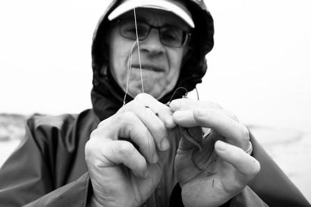 JACQUES - Pêcheur de loubines à Longeville-sur-Mer