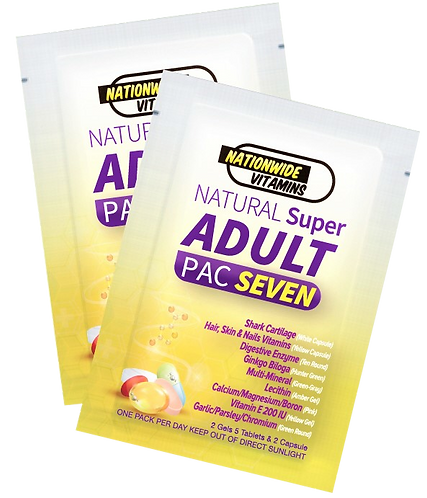 ADULT PAC SEVEN (24 Pouches)