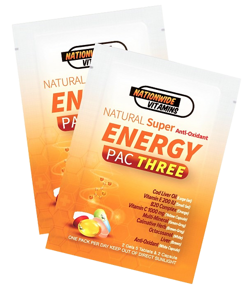 ENERGY PAC THREE (24 Pouches)