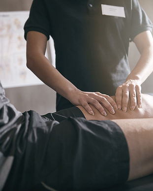 Someone providing Massage. Why not take it to the next level with our specialist courses ranging from sales to advanced Personal Training PT. Awarding organisation Active IQ.