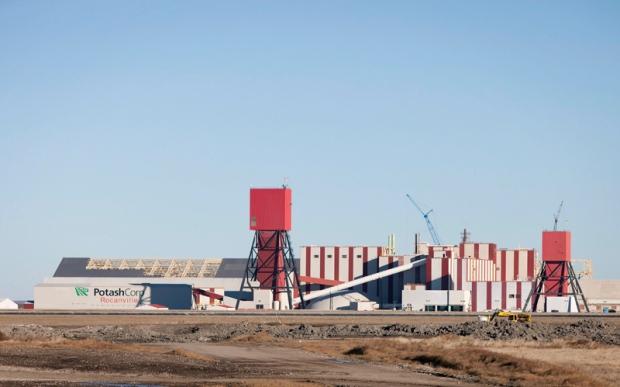 Potash Corp Rocanville Mine
