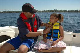 GOVERNMENT UNVEILS LIFE JACKET LOANER STATIONS DURING NATIONAL DROWNING PREVENTION WEEK