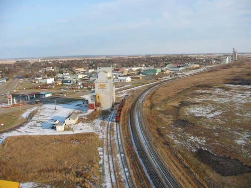 Kamsack, Sask (85 km N) Pop 1,900