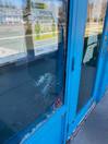 Vandals break window at Swimming Pool in Indian Head
