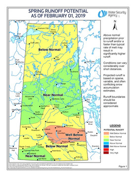 Saskatchewan Spring Runoff Expected To Be Below Normal