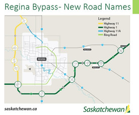 Highway Name Changes At The Regina Bypass