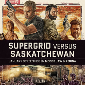 Supergrid hits the big screen this Friday in Moose Jaw