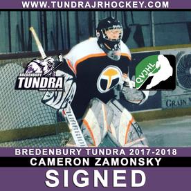 Zamonsky Signs with Tundra