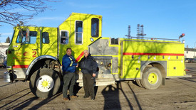 New Fire Truck Donated to College