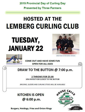 Provincial Curling Day being hosted in Lemberg