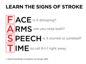 Sask Government Supports Increased Stroke Public Awareness And Education