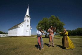 Today is Free admission day at Batoche National Historic Site