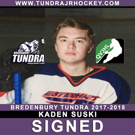 Suski signs with Tundra