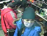 Can you identify these armed robbery suspects?