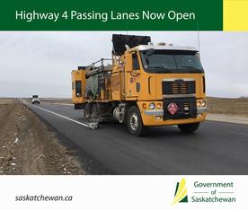 New Highway 4  Passing Lanes Now Open
