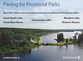 100+ Kilometres Of Roads To Provincial Parks Being Paved In 2021