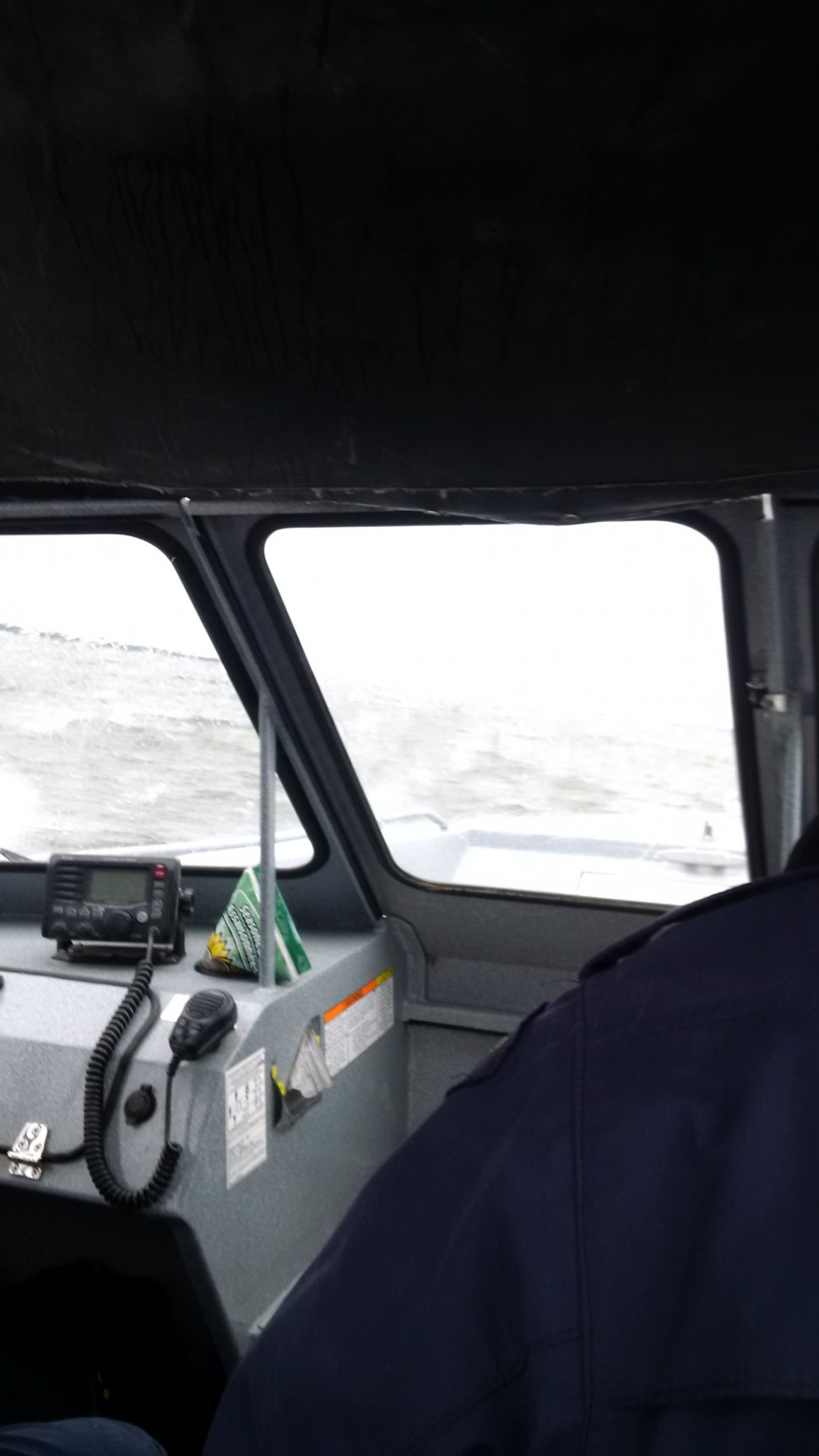Weather/wave conditions out on the water (Aug. 28th)