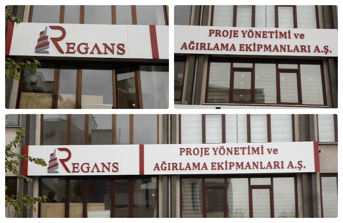 Regans proje yönetimi ve ağırlama