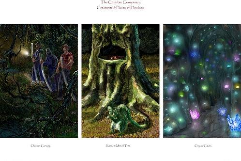 Poster - Houkura Creatures