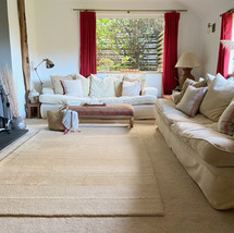 Main living room with wood burner